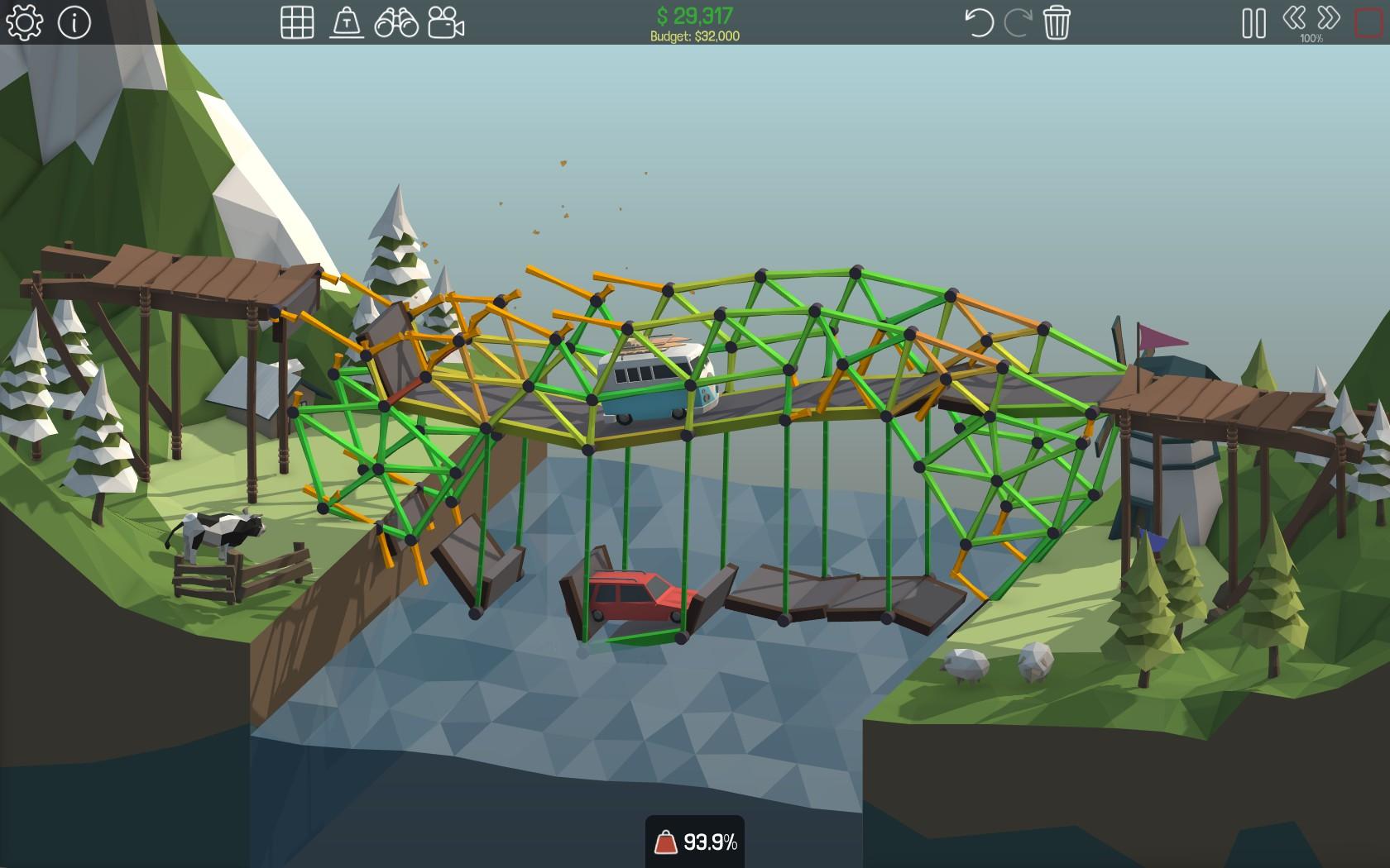 Poly Bridge – znáte hráče, všechno zničí 127188