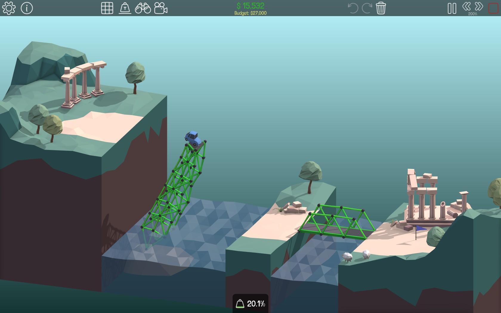 Poly Bridge – znáte hráče, všechno zničí 127192