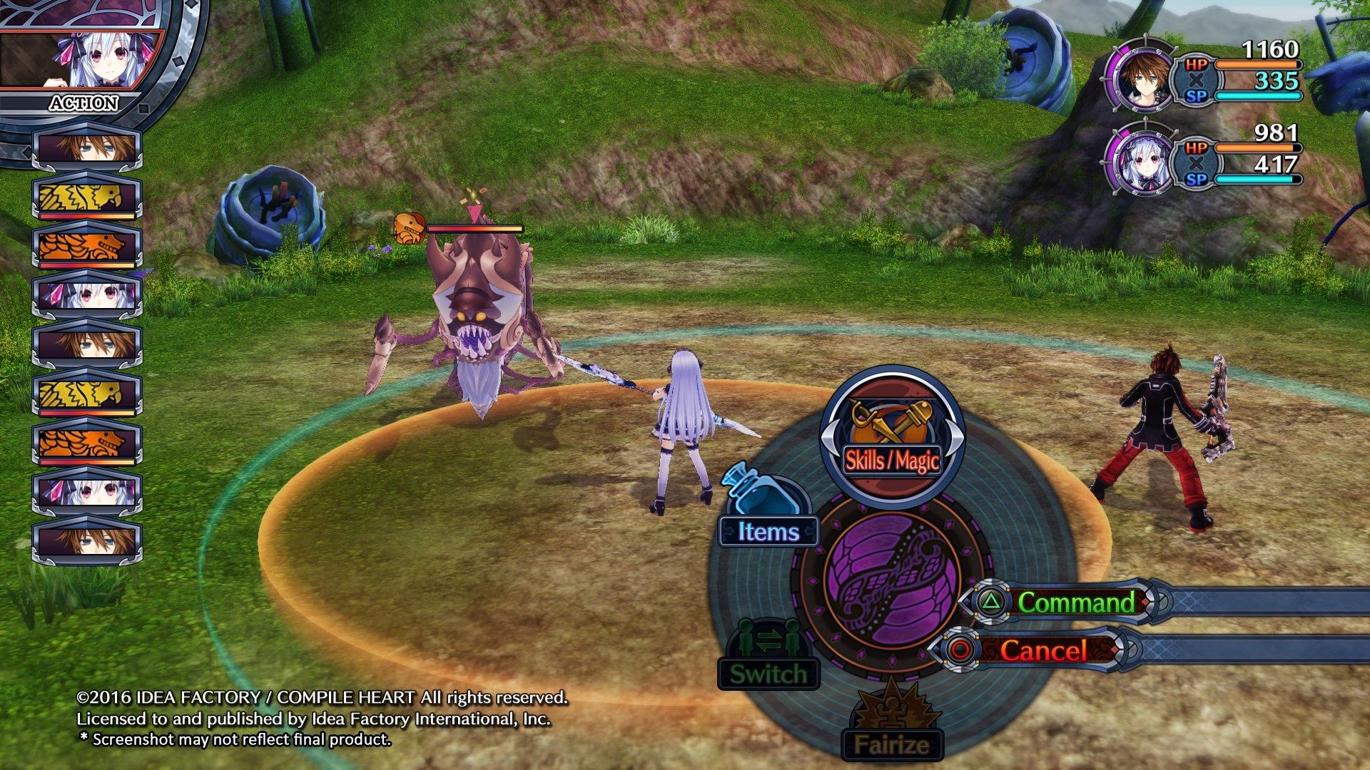 Fairy Fencer F: Advent Dark Force nabídne tři příběhy 127204