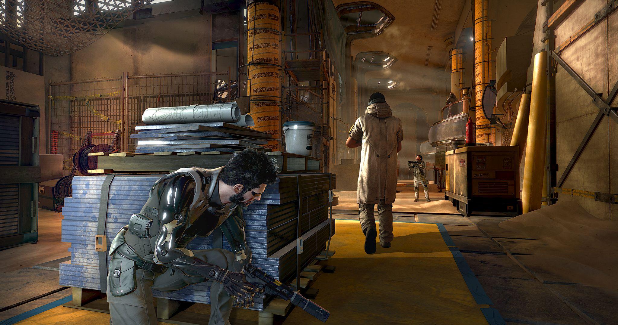 V Deus Ex: Mankind Divided zaujme atmosféra 127263