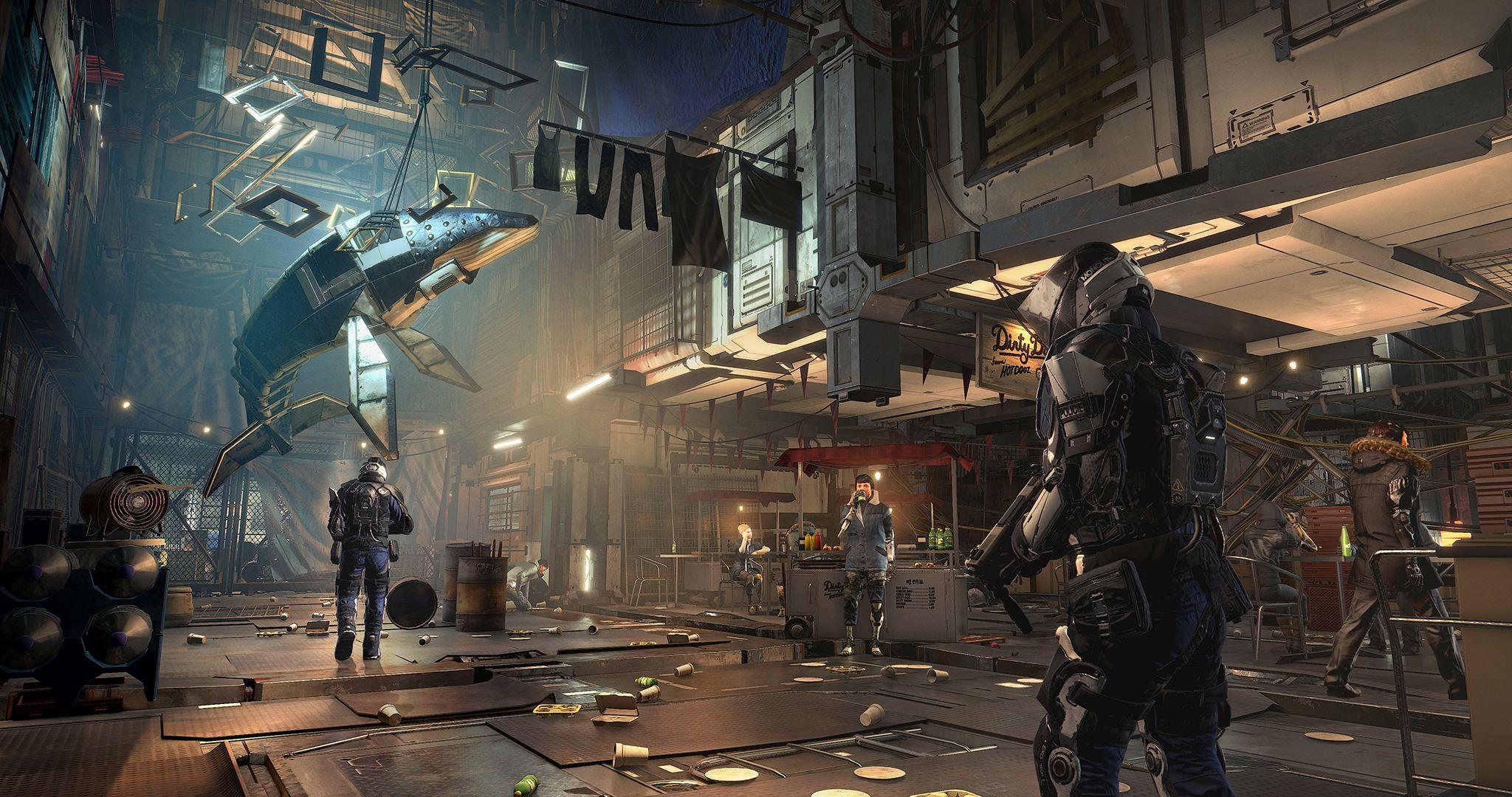 V Deus Ex: Mankind Divided zaujme atmosféra 127264