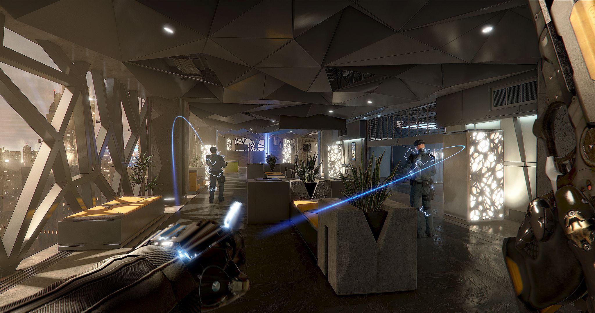V Deus Ex: Mankind Divided zaujme atmosféra 127265