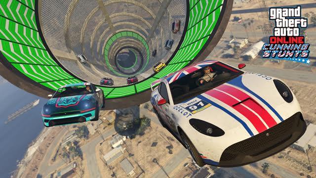 Update do GTA V přidává tři nová vozidla a šest Cunning Stunts závodů 127306