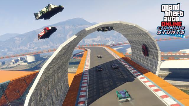 Update do GTA V přidává tři nová vozidla a šest Cunning Stunts závodů 127307