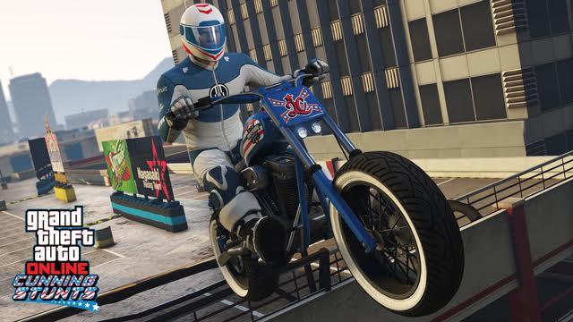 Update do GTA V přidává tři nová vozidla a šest Cunning Stunts závodů 127308