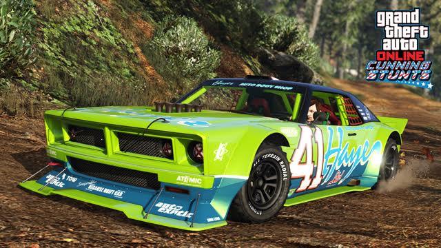 Update do GTA V přidává tři nová vozidla a šest Cunning Stunts závodů 127309