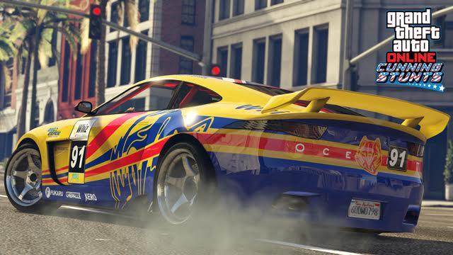 Update do GTA V přidává tři nová vozidla a šest Cunning Stunts závodů 127310