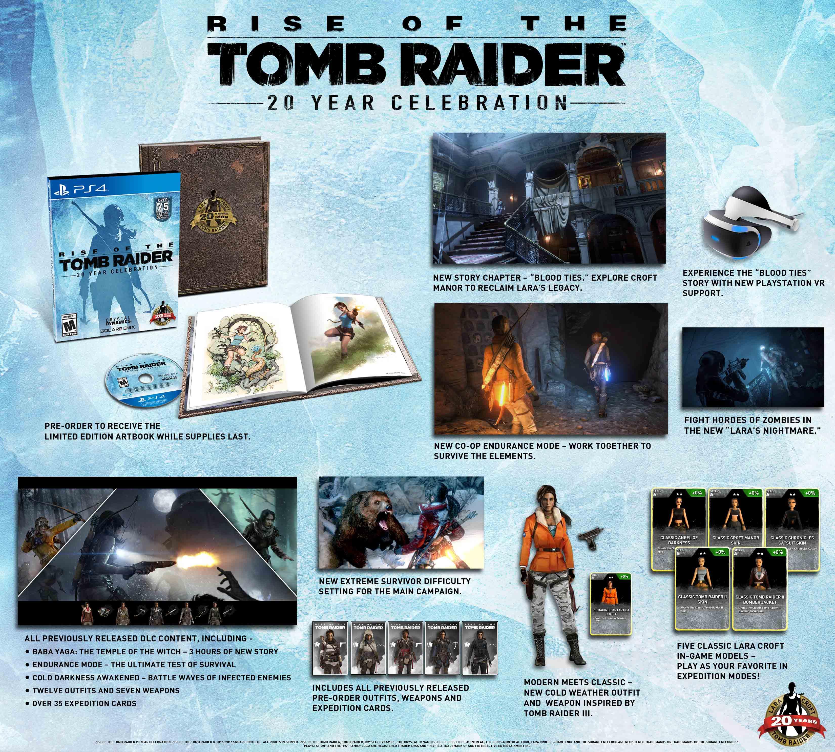 K Rise of the Tomb Raider získáte předchozí díl 127324