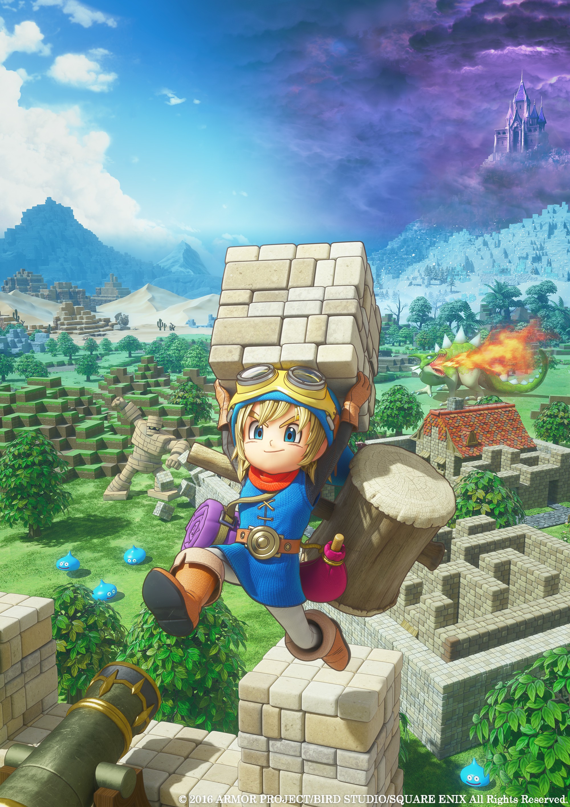 Pro Dragon Quest Builders oznámena Day One Edition 127361