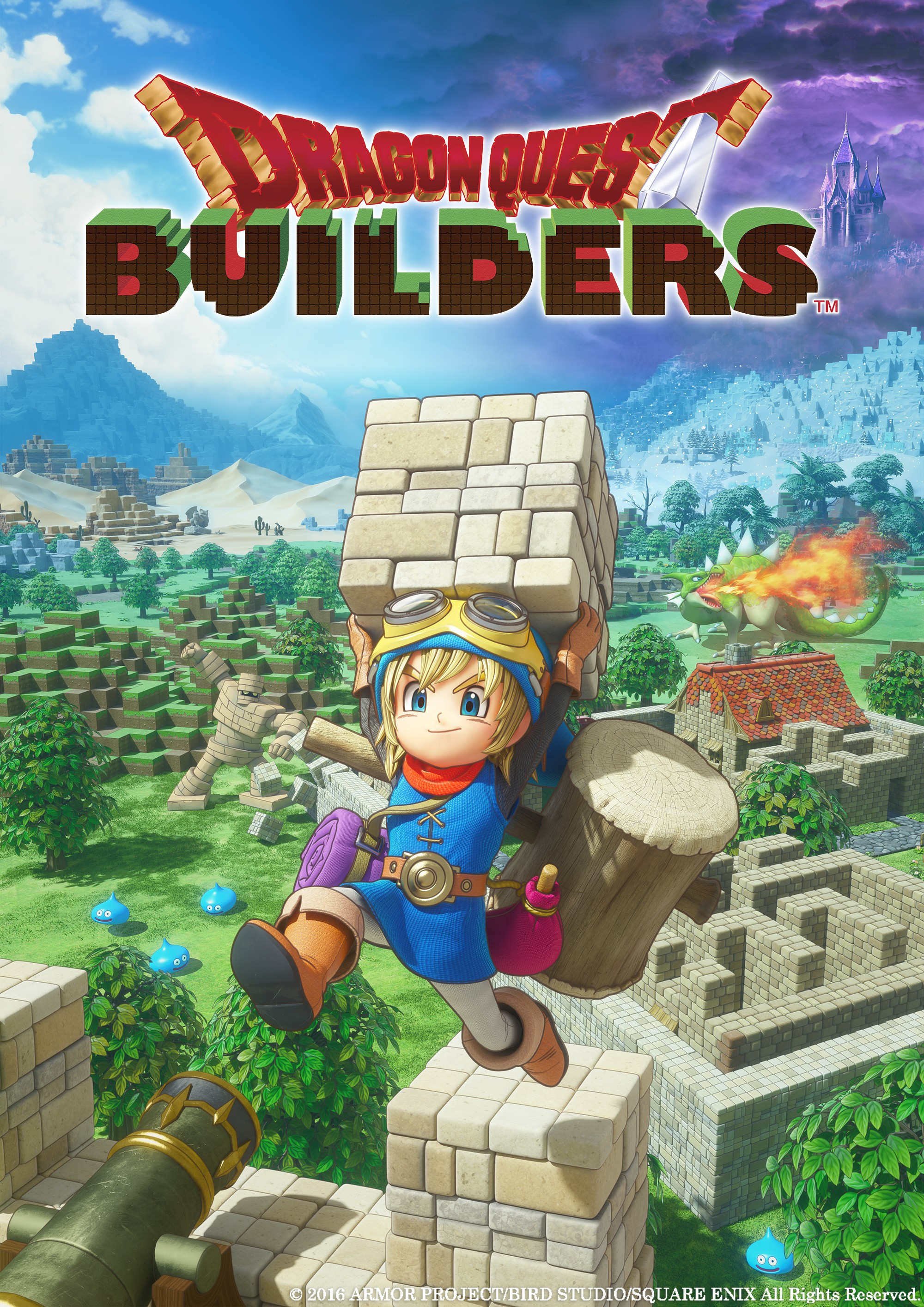 Pro Dragon Quest Builders oznámena Day One Edition 127362
