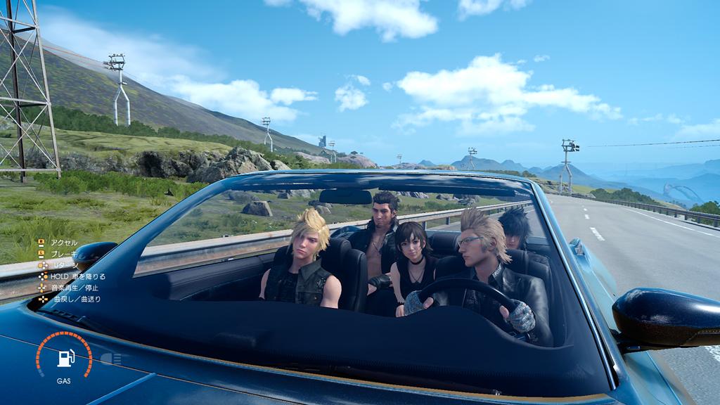 Nové postavy ve Final Fantasy XV, nakupování a principy boje 127386