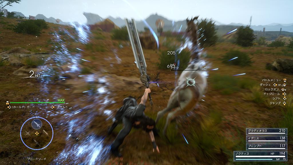 Nové postavy ve Final Fantasy XV, nakupování a principy boje 127395