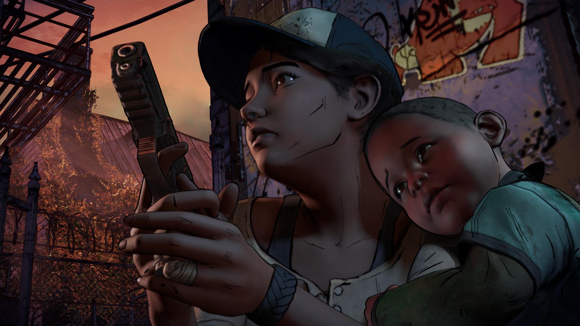 Třetí série The Walking Dead na nových screenshotech 127536