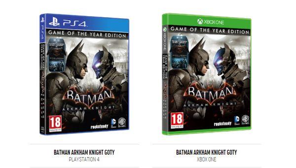 Příští týden vyjde GOTY edice Batman: Arkham Knight 127564