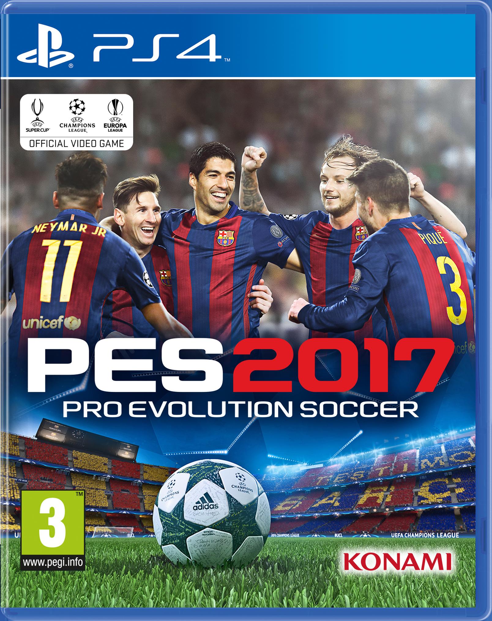 Hráči Barcelony hvězdami PES 2017 127688