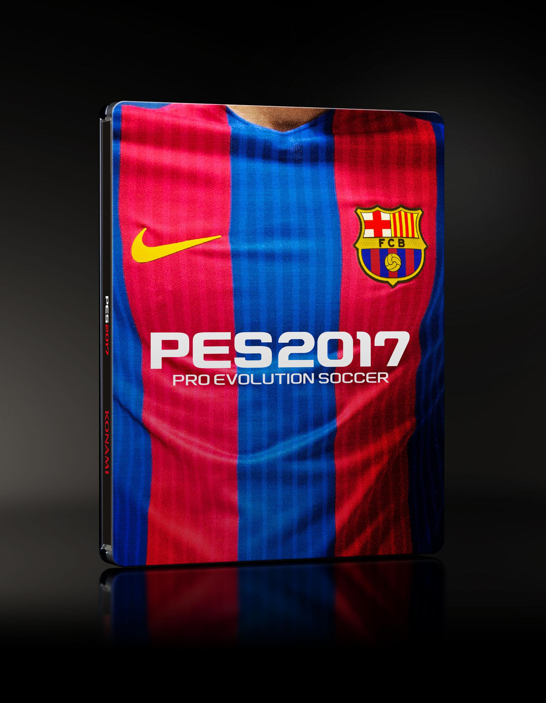 Hráči Barcelony hvězdami PES 2017 127689