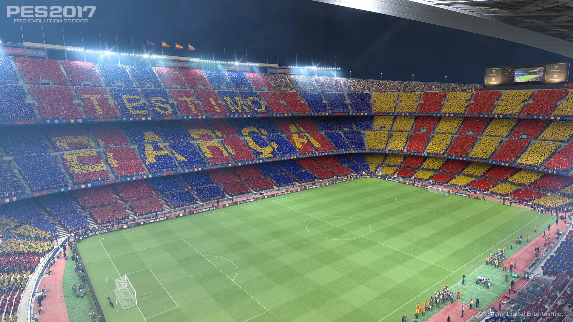 Hráči Barcelony hvězdami PES 2017 127695