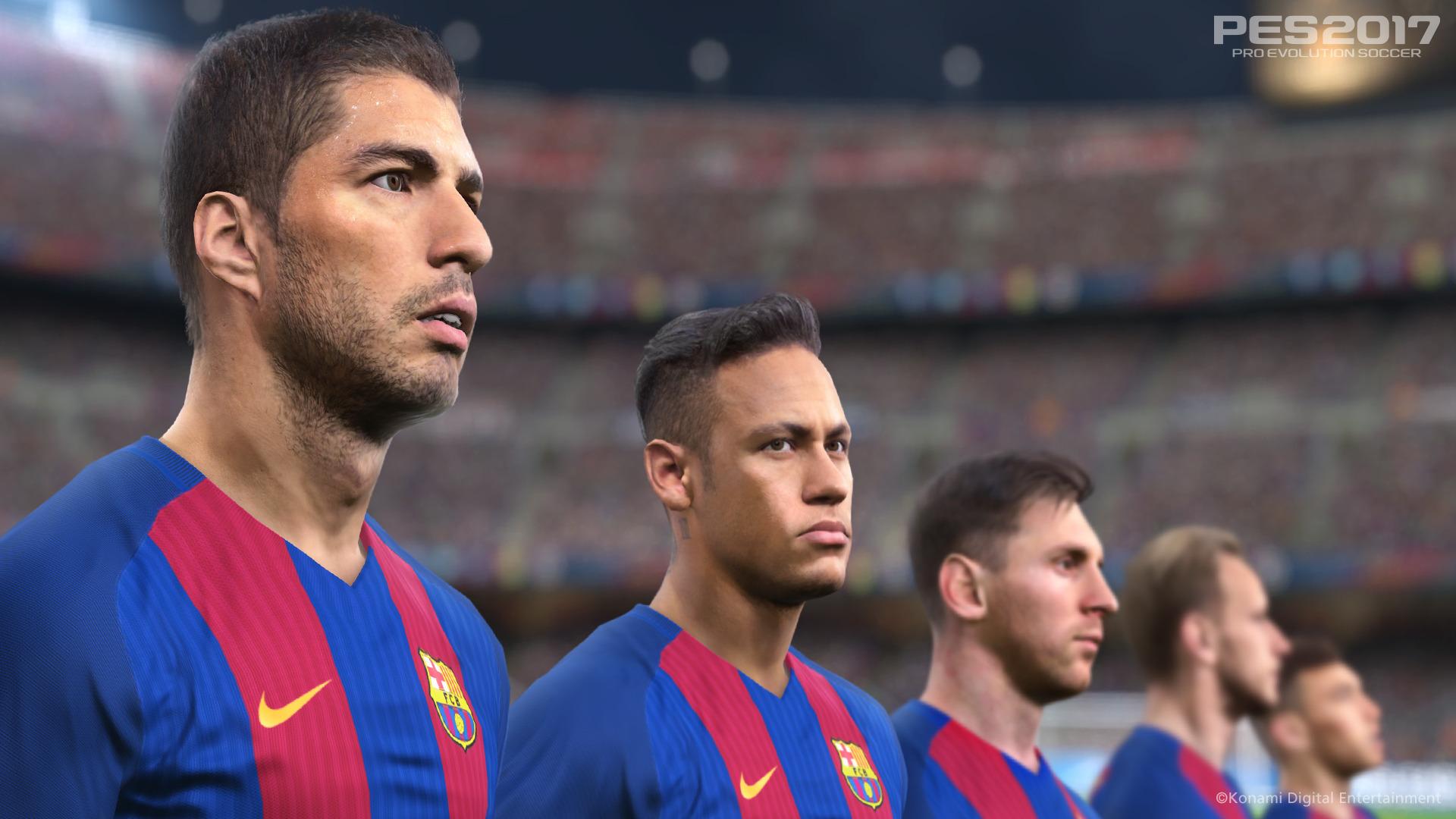 Hráči Barcelony hvězdami PES 2017 127700