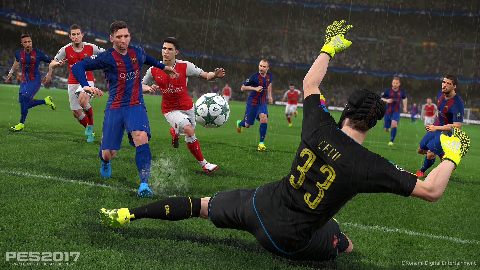 Hráči Barcelony hvězdami PES 2017 127702