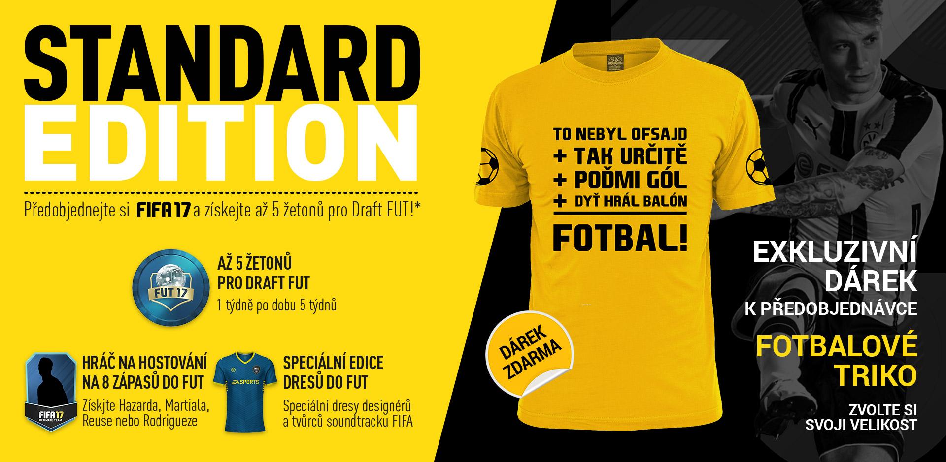 Vyberte si velikost fešáckého trička k FIFA 17 127986