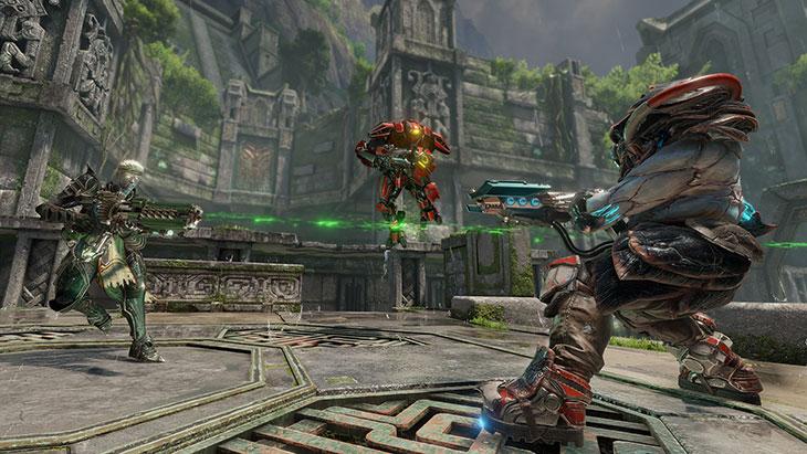 Quake Champions kombinuje model bezplatné a placené hry 128098