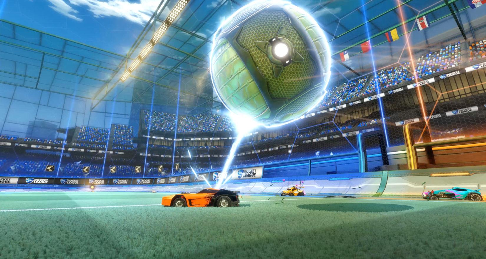 Rocket League dostane herní mód Rumble, který obsahuje power-upy 128171