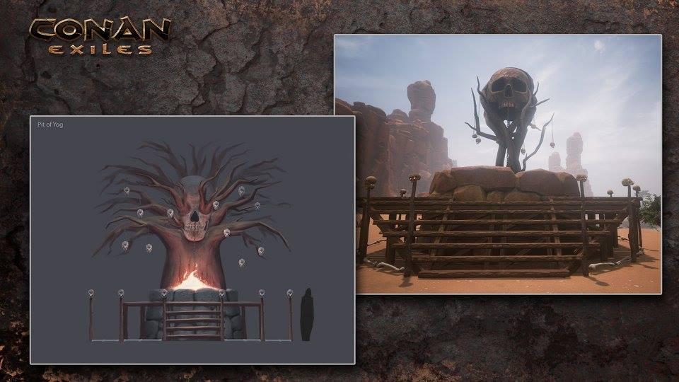 Démoni, obětní oltář a další z Conan Exiles 128230