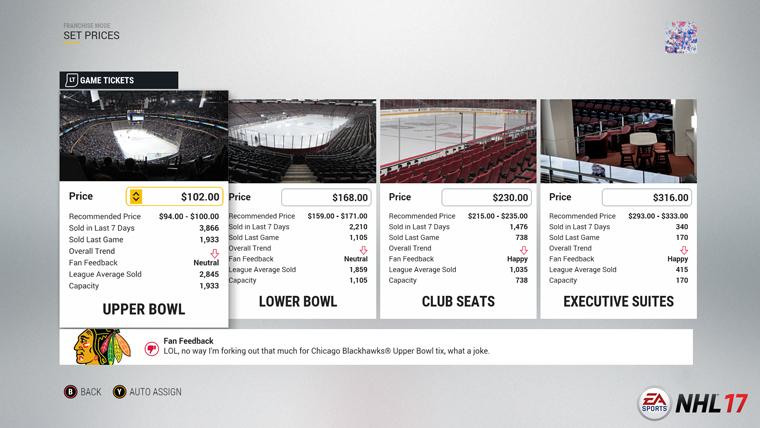 NHL 17 představuje mód Organizace 128262