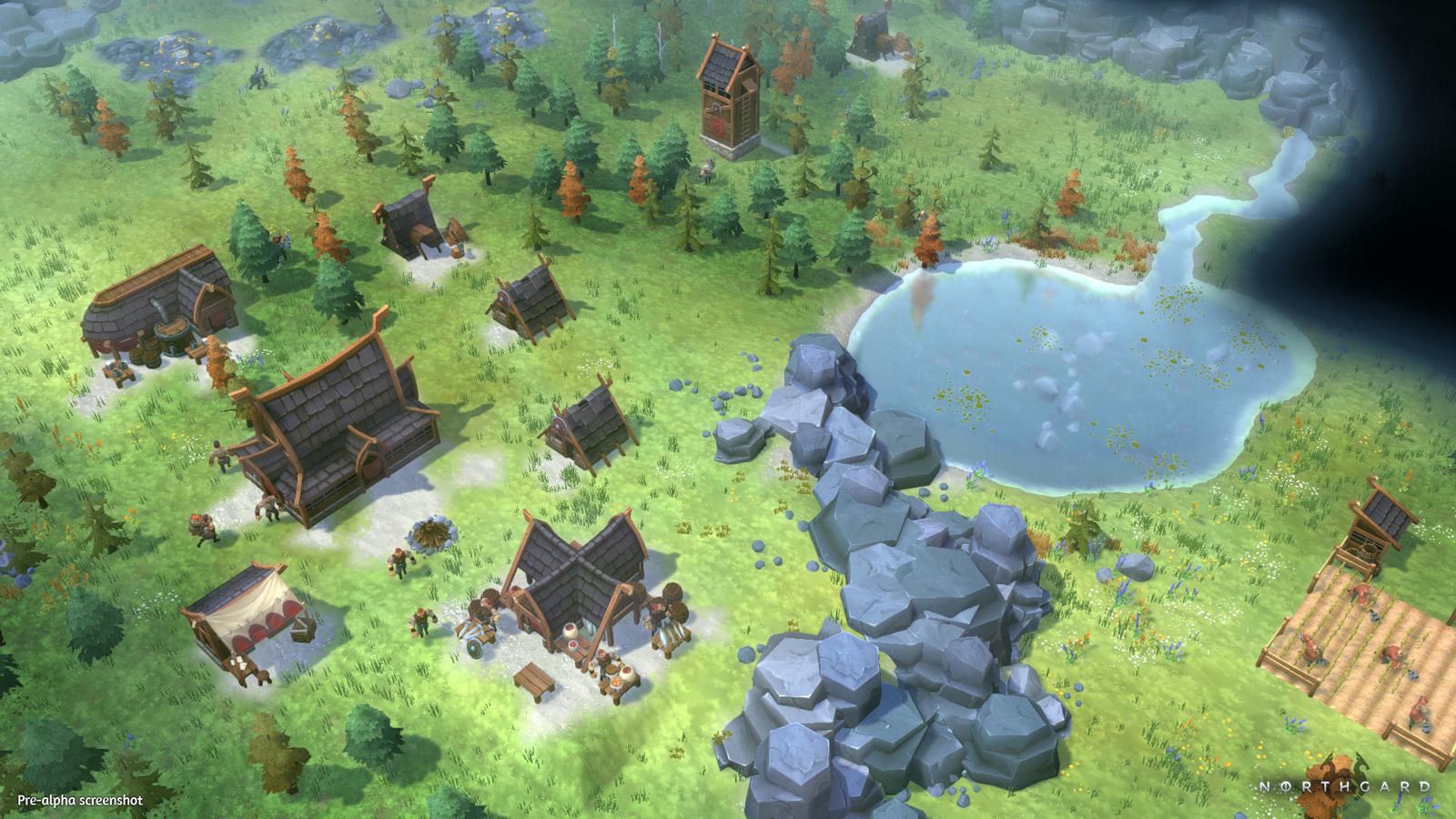 Strategie Northgard od autorů Evoland o severské mytologii 128281