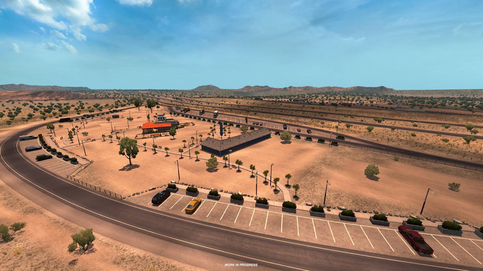 Takhle bude změněna mapa American Truck Simulatoru 128347
