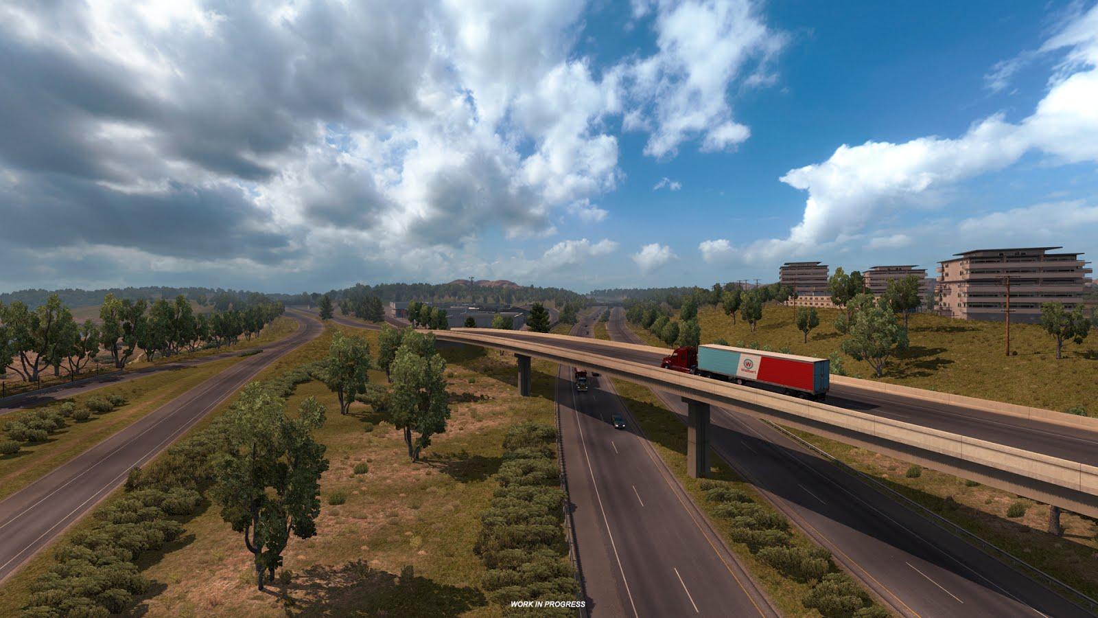 Takhle bude změněna mapa American Truck Simulatoru 128349