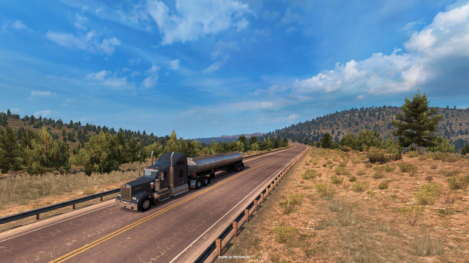 Takhle bude změněna mapa American Truck Simulatoru 128350
