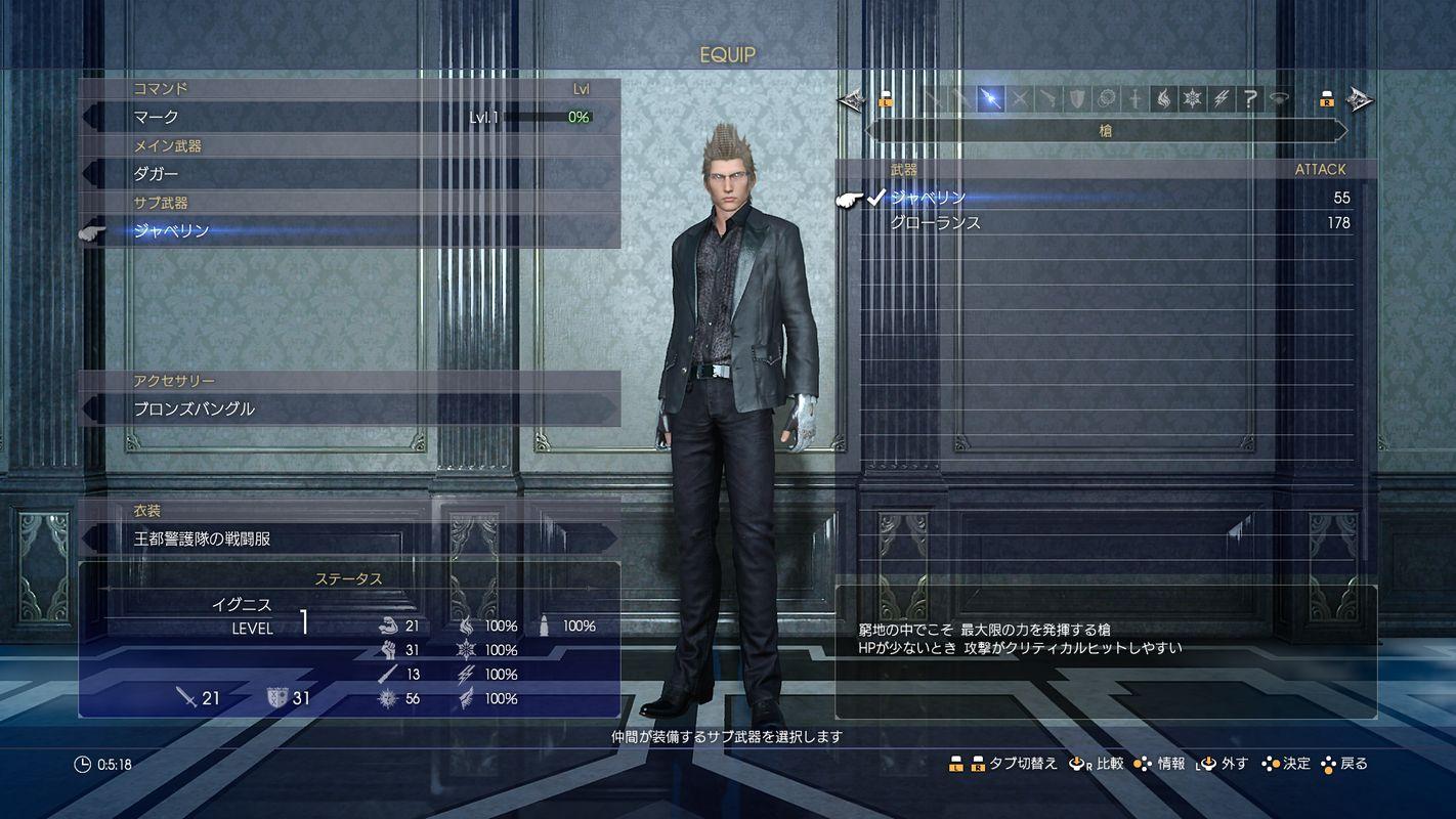Výbava a bydlení ve Final Fantasy XV 128402