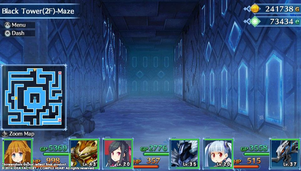 Úvod hry MeiQ: Labyrinth of Death a screenshoty dungeonů 128495