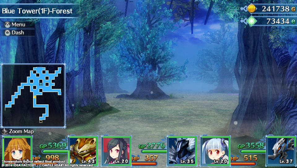 Úvod hry MeiQ: Labyrinth of Death a screenshoty dungeonů 128498