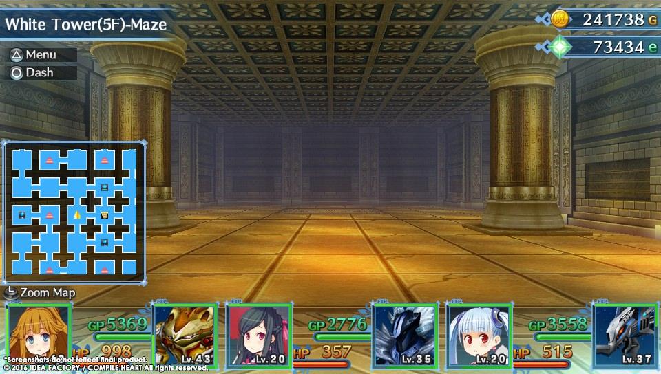 Úvod hry MeiQ: Labyrinth of Death a screenshoty dungeonů 128499
