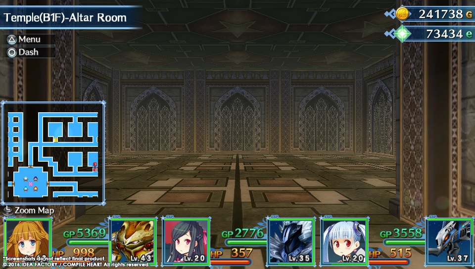 Úvod hry MeiQ: Labyrinth of Death a screenshoty dungeonů 128500
