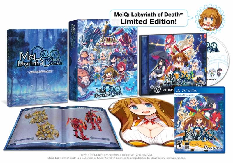 Úvod hry MeiQ: Labyrinth of Death a screenshoty dungeonů 128501