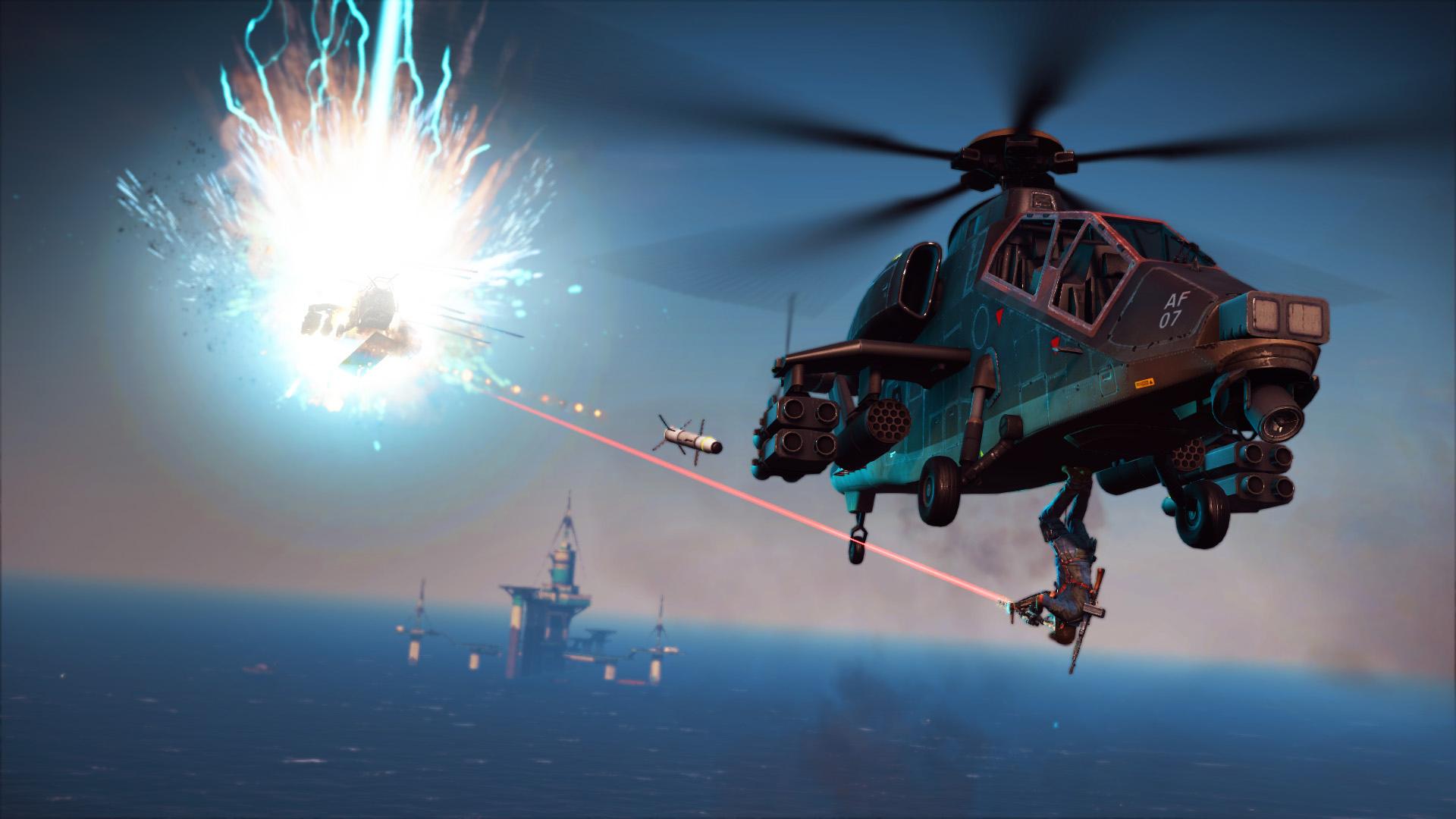 Ozbrojená loď z Bavarium Sea Heist DLC pro Just Cause 3 se předvádí ve videu 128581