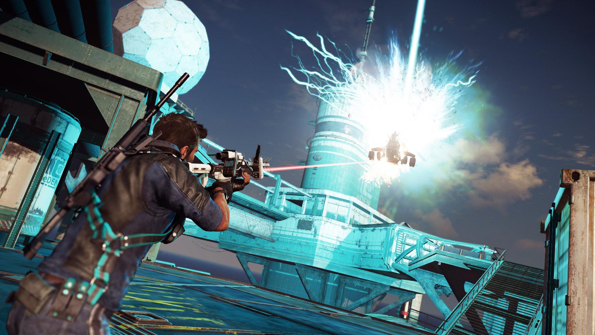 Ozbrojená loď z Bavarium Sea Heist DLC pro Just Cause 3 se předvádí ve videu 128582