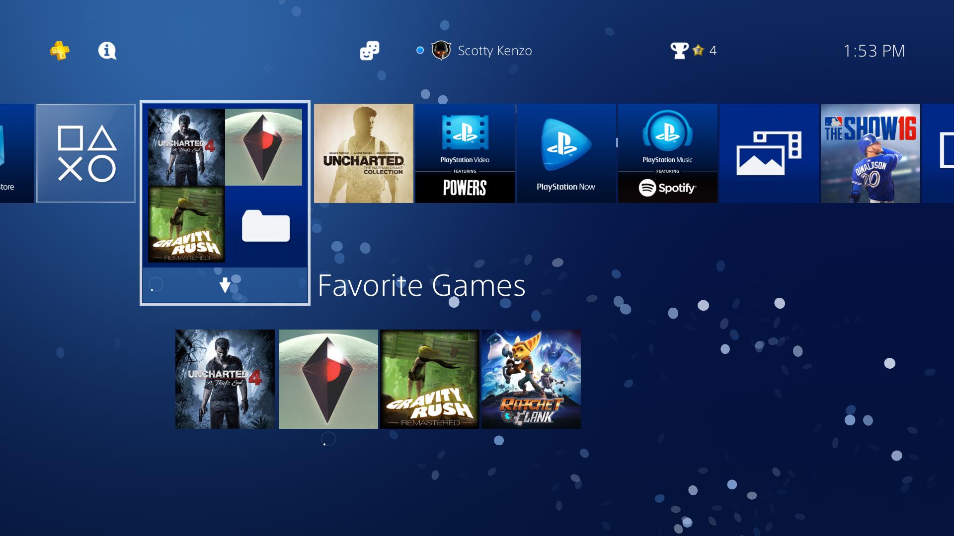PlayStation 4 update 4.00 nabídne lepší Share menu a zpřehlední knihovnu 128622
