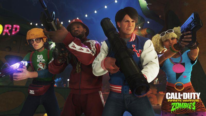 Masakr zombíků v zábavním parku v Call of Duty: Infinite Warfare 128647