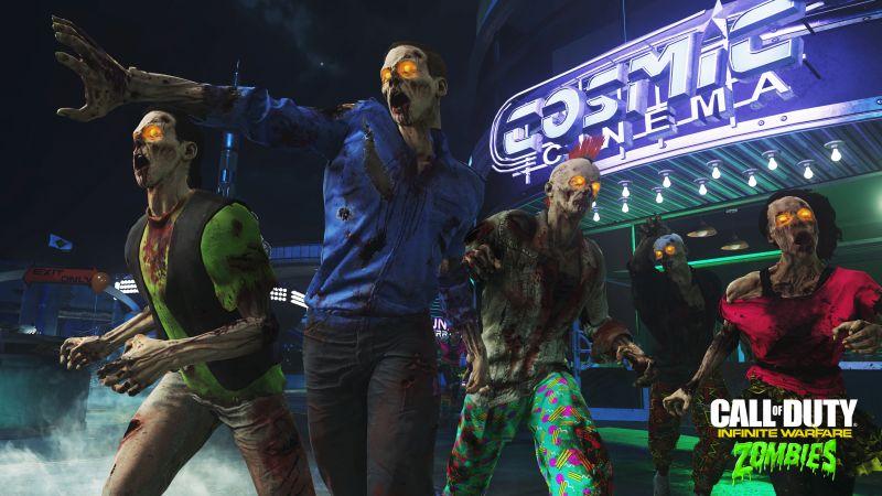 Masakr zombíků v zábavním parku v Call of Duty: Infinite Warfare 128650