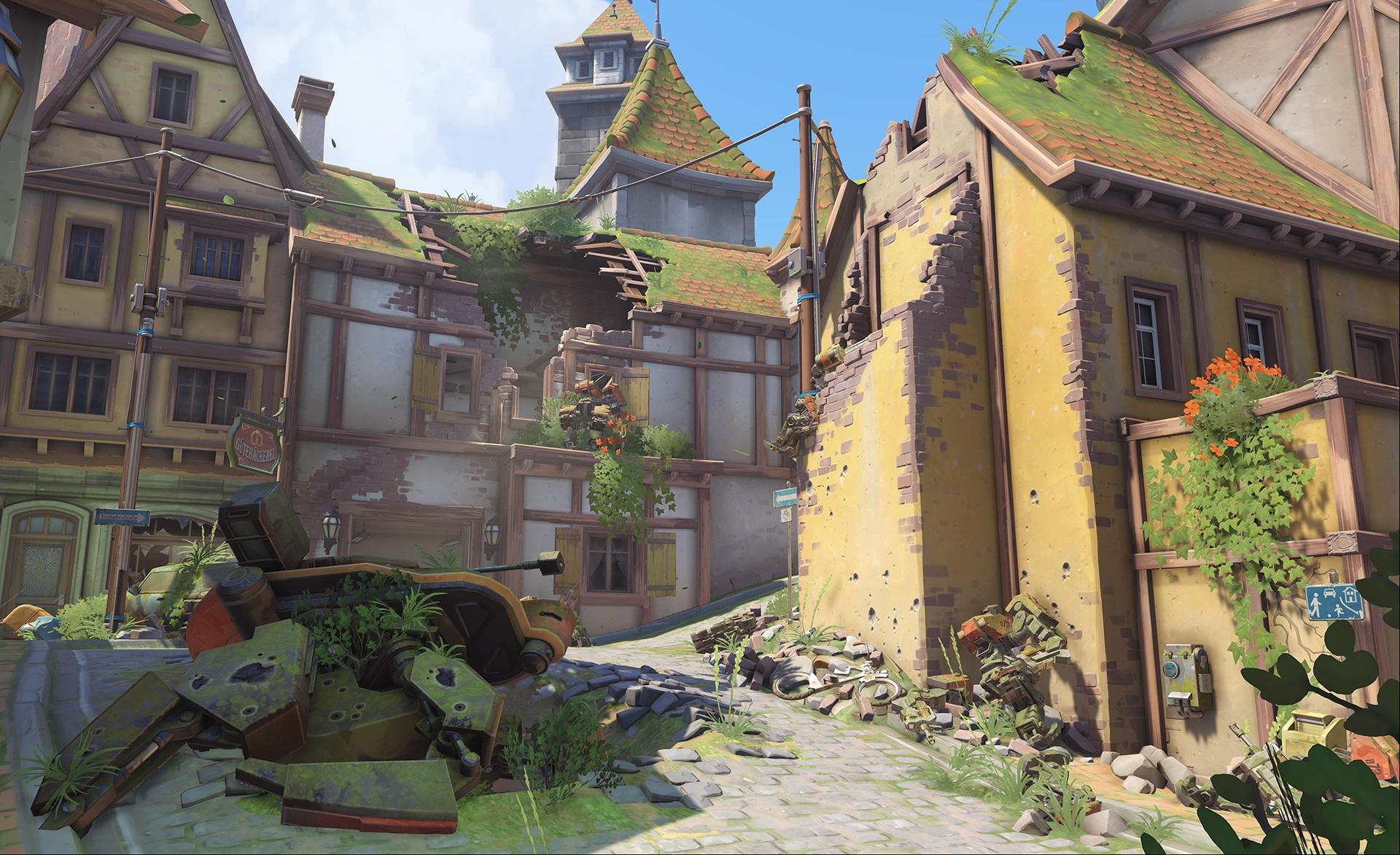 Nová mapa pro Overwatch nás zavede do hradu a přilehlého městečka v Německu 128655