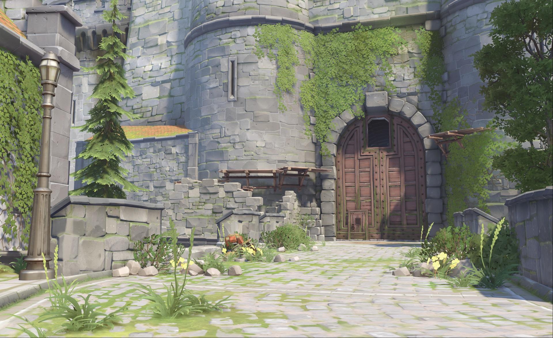 Nová mapa pro Overwatch nás zavede do hradu a přilehlého městečka v Německu 128656