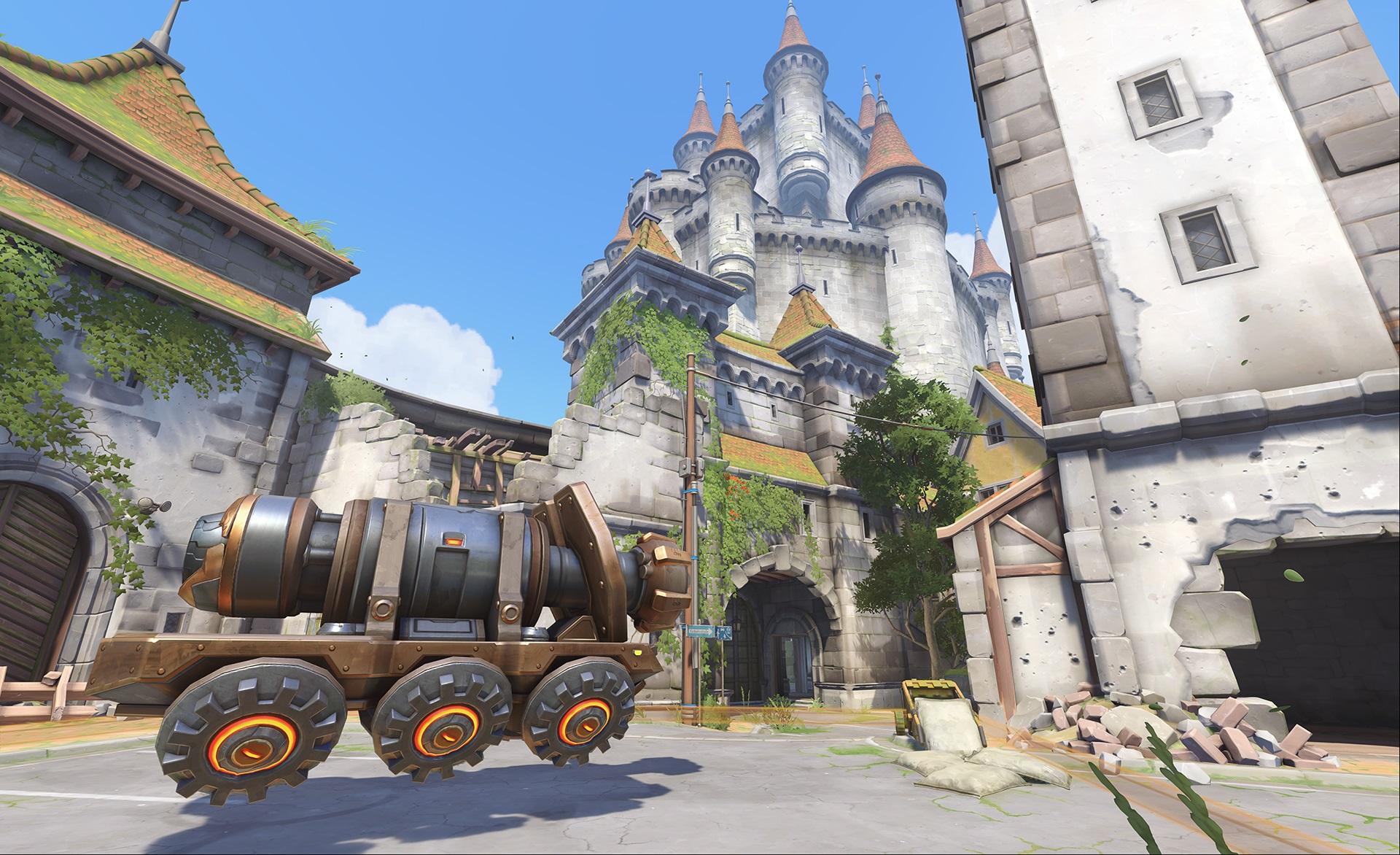 Nová mapa pro Overwatch nás zavede do hradu a přilehlého městečka v Německu 128657