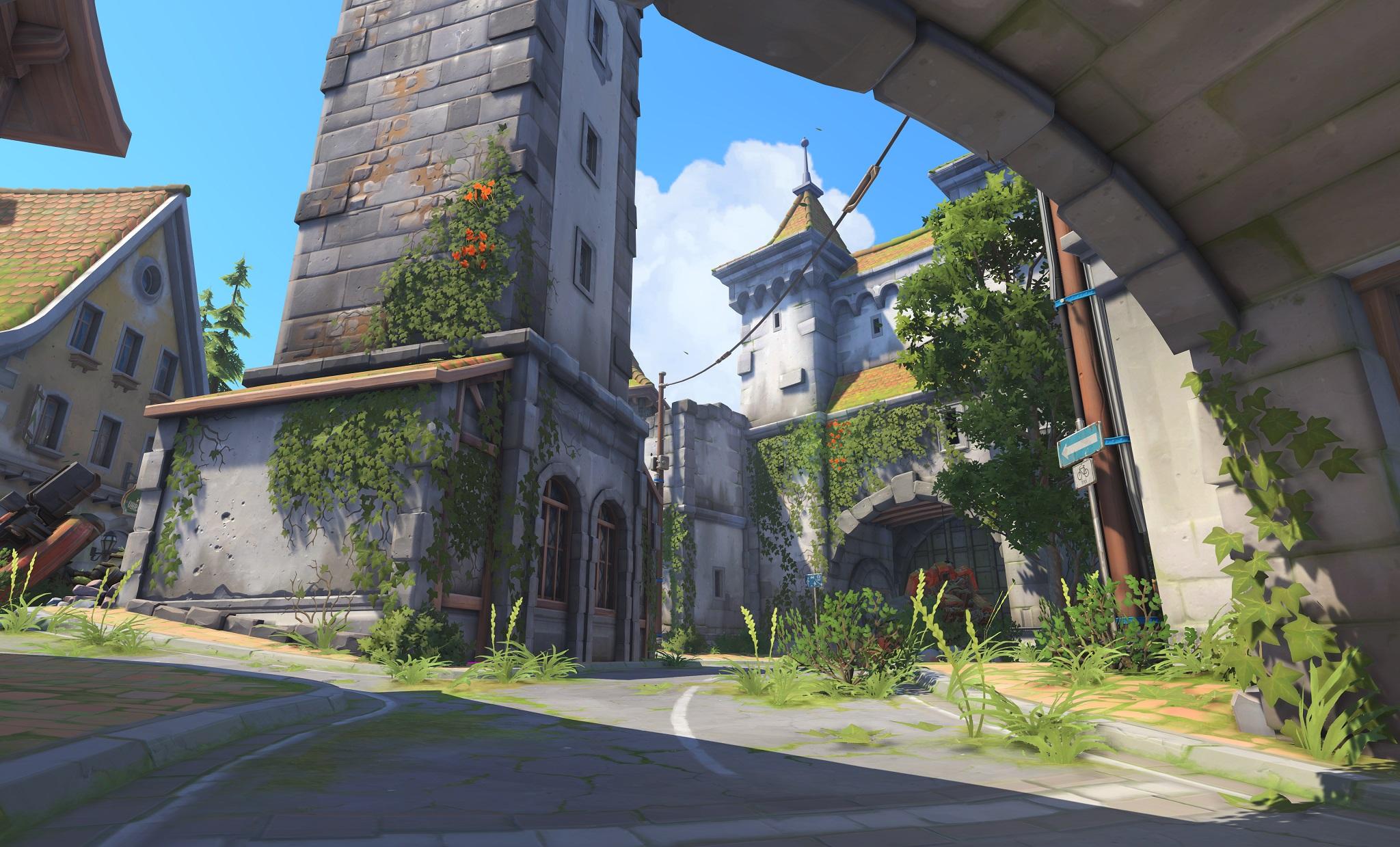 Nová mapa pro Overwatch nás zavede do hradu a přilehlého městečka v Německu 128662