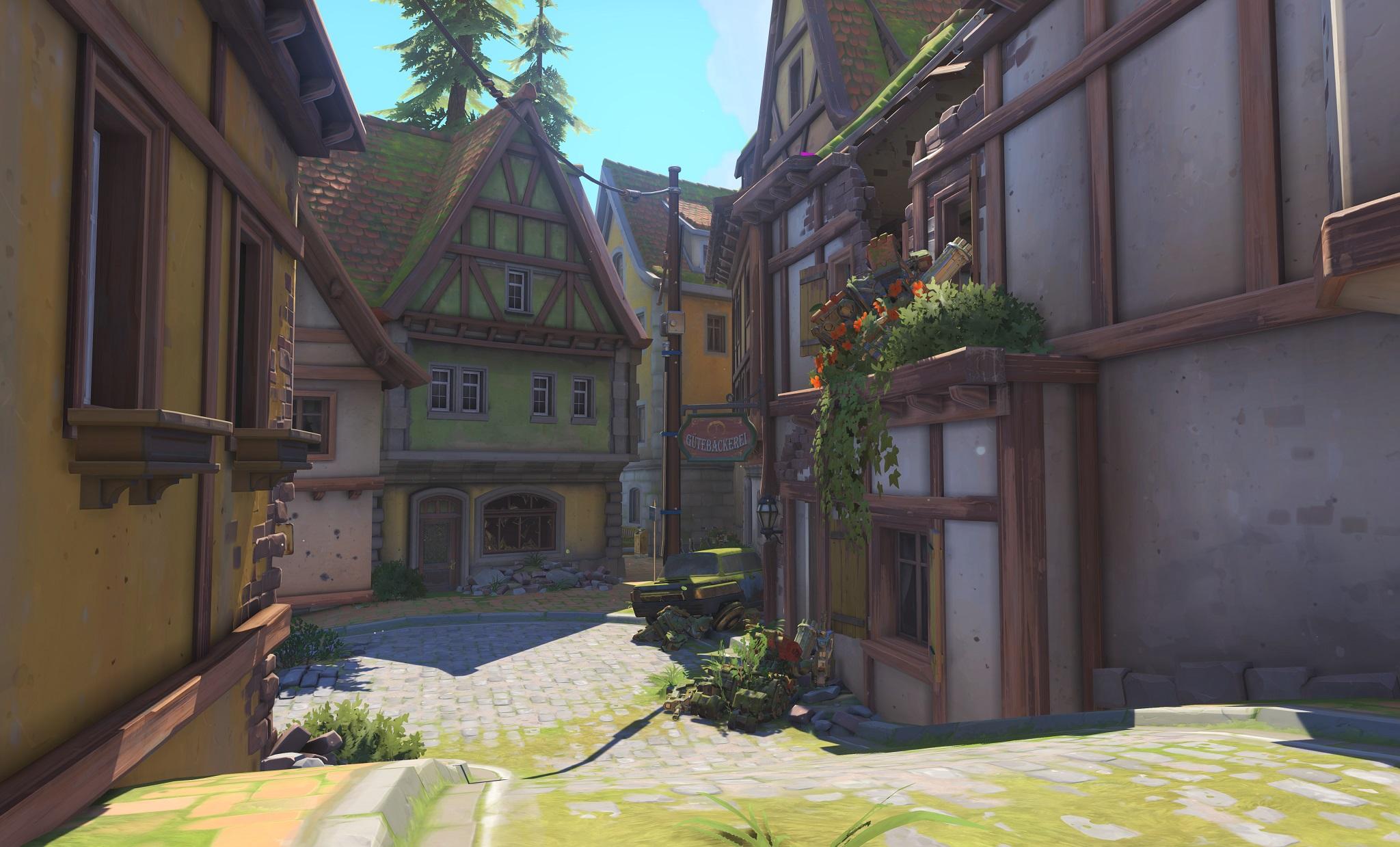 Nová mapa pro Overwatch nás zavede do hradu a přilehlého městečka v Německu 128664