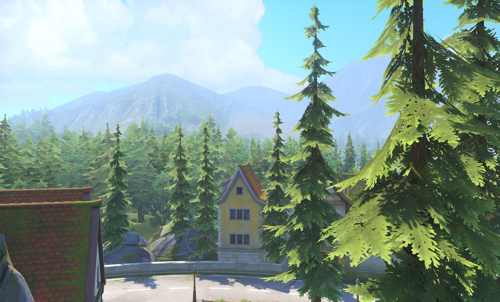 Nová mapa pro Overwatch nás zavede do hradu a přilehlého městečka v Německu 128668