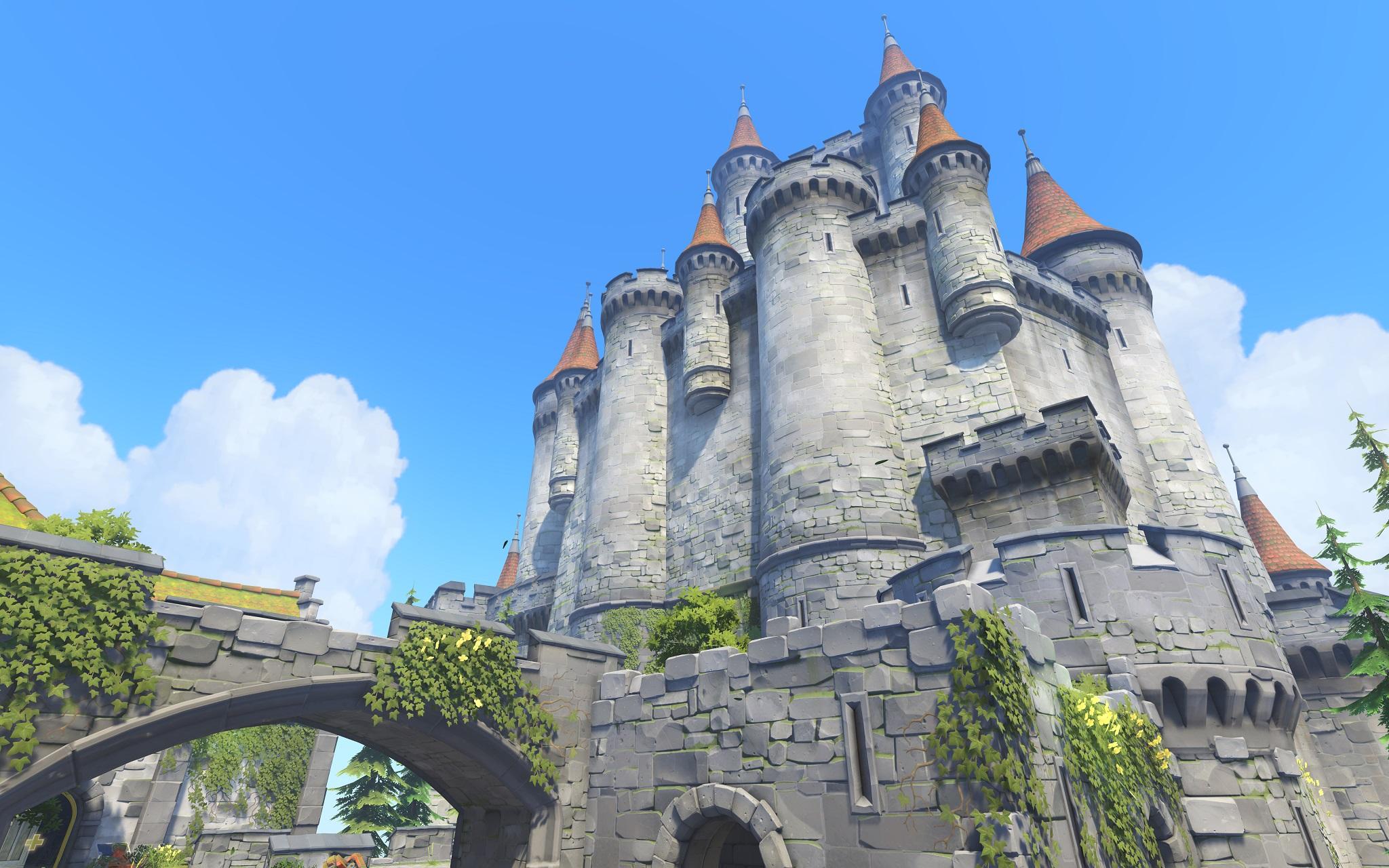 Nová mapa pro Overwatch nás zavede do hradu a přilehlého městečka v Německu 128672